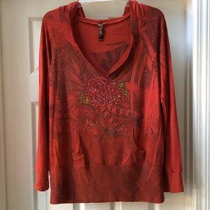 Sweet 🌷Emma Rose hoodie!  Size L